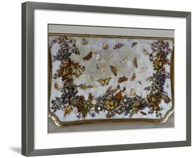 Table : L'Air-Giuseppe Zocchi-Framed Giclee Print