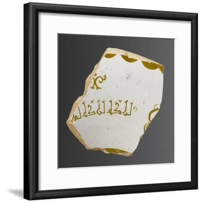Bord de coupe--Framed Giclee Print
