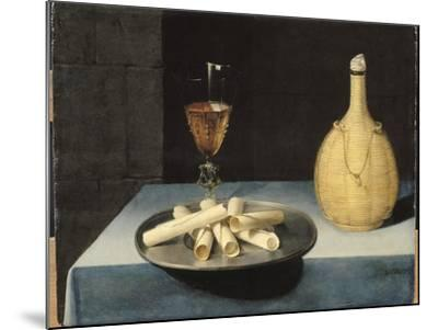Le dessert de gaufrettes-Lubin Baugin-Mounted Giclee Print