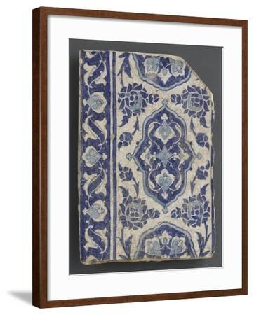 Diamonds in the Blue Cartridge and Foliage Blossomed--Framed Giclee Print