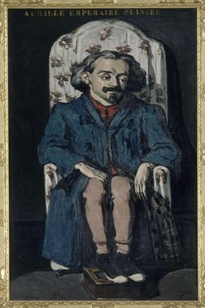 Achille Emperaire (1829-1898), peintre aixois-Paul C?zanne-Stretched Canvas Print