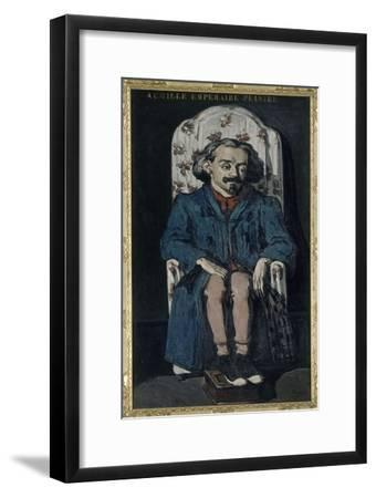 Achille Emperaire (1829-1898), peintre aixois-Paul C?zanne-Framed Giclee Print