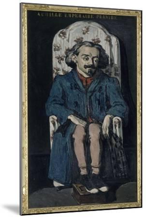 Achille Emperaire (1829-1898), peintre aixois-Paul C?zanne-Mounted Giclee Print
