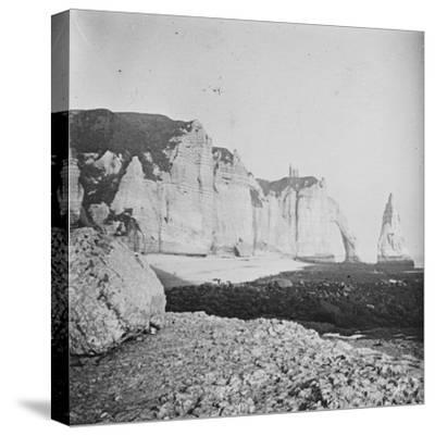Etretat--Stretched Canvas Print