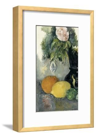 Fleurs et fruits-Paul C?zanne-Framed Giclee Print