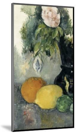 Fleurs et fruits-Paul C?zanne-Mounted Giclee Print