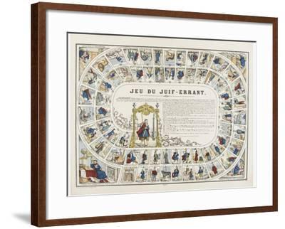 Jeu du juif errant--Framed Giclee Print