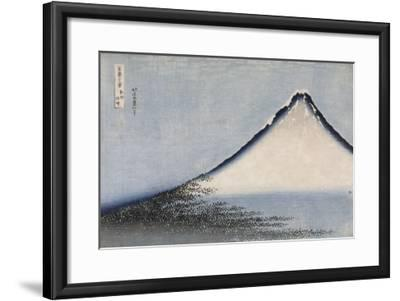 Le Fuji bleu-Katsushika Hokusai-Framed Premium Giclee Print