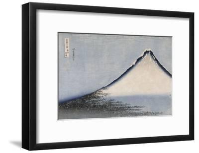 Le Fuji bleu-Katsushika Hokusai-Framed Giclee Print