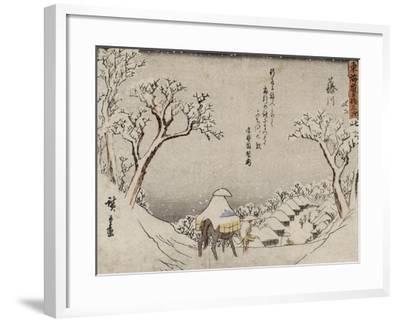 Fujikawa-Ando Hiroshige-Framed Giclee Print