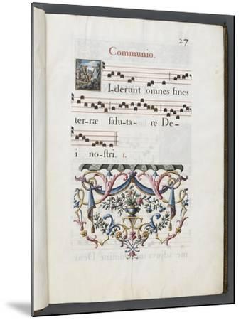 Graduale romanum, exécuté par P. Louis Blouin-J.B. de Bray-Mounted Giclee Print