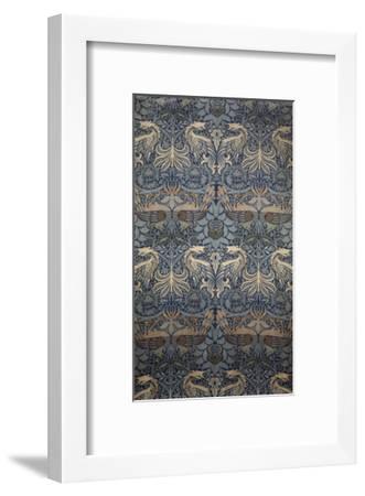 Tenture Peacock-William Morris-Framed Giclee Print