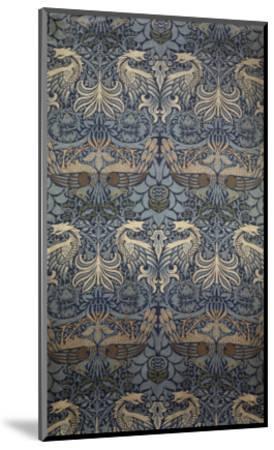 Tenture Peacock-William Morris-Mounted Giclee Print
