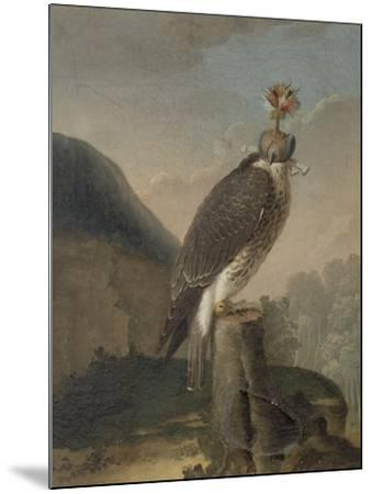 Faucon chaperonné.-Nicasius Bernaerts-Mounted Giclee Print