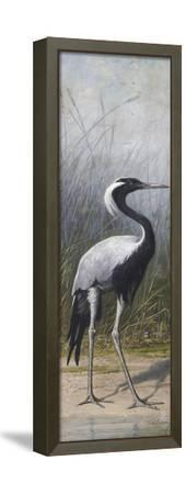 Héron-Adolphe Yvon-Framed Stretched Canvas Print