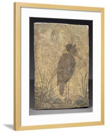 Héron--Framed Giclee Print