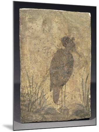 Héron--Mounted Giclee Print