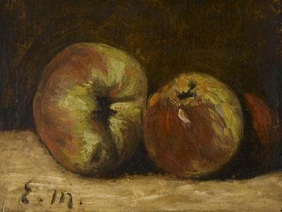 Pommes-Edouard Manet-Framed Giclee Print