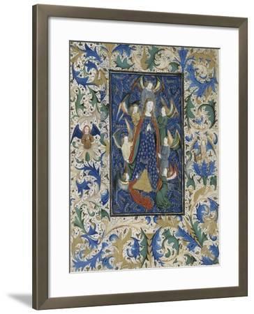 Assomption de la Vierge--Framed Giclee Print