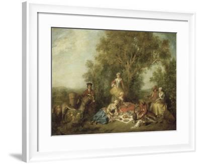 L'Automne-Nicolas Lancret-Framed Giclee Print