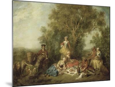 L'Automne-Nicolas Lancret-Mounted Giclee Print