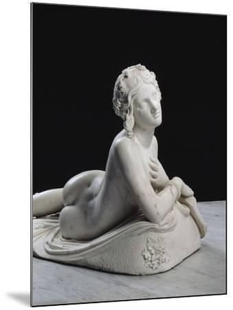 Bacchante au repos dite aussi Dircé-Lorenzo Bartolini-Mounted Giclee Print