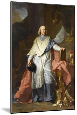 Jacques Benigne Bossuet (1627-1704)-Hyacinthe Rigaud-Mounted Giclee Print