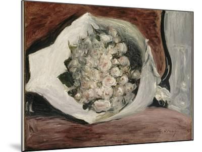 Bouquet dans une loge-Pierre-Auguste Renoir-Mounted Giclee Print