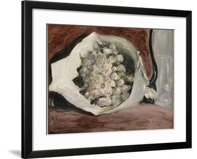 Bouquet dans une loge-Pierre-Auguste Renoir-Framed Giclee Print