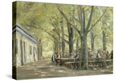 Brasserie de campagne à Brannenbourg (Bavière)-Max Liebermann-Stretched Canvas Print