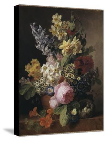 Bouquet-Jan Frans van Dael-Stretched Canvas Print