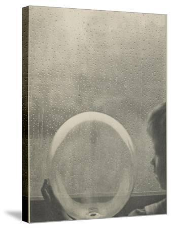Camera Work, juillet 1908 : Drops of rain-Clarence White-Stretched Canvas Print