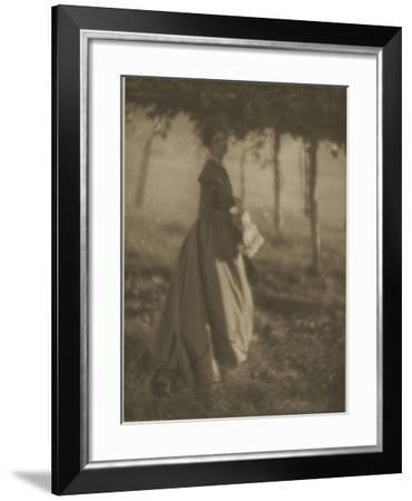 Camera Work July.1908 : the Arbor-Clarence White-Framed Giclee Print