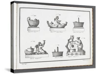 Catalogue of the Porcelain Factory Coussac Bonneval--Stretched Canvas Print
