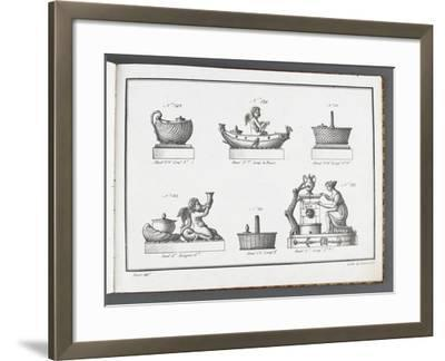 Catalogue of the Porcelain Factory Coussac Bonneval--Framed Giclee Print