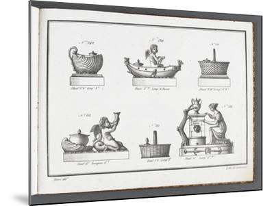 Catalogue of the Porcelain Factory Coussac Bonneval--Mounted Giclee Print