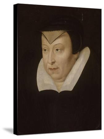 Catherine de Médicis, reine de France--Stretched Canvas Print