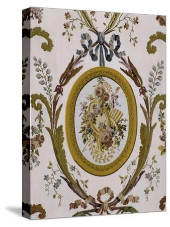 Vue intérieure : cabinets intérieurs de la Reine : cabinet du billard de Marie-Antoinette--Stretched Canvas Print
