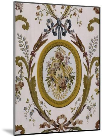 Vue intérieure : cabinets intérieurs de la Reine : cabinet du billard de Marie-Antoinette--Mounted Giclee Print