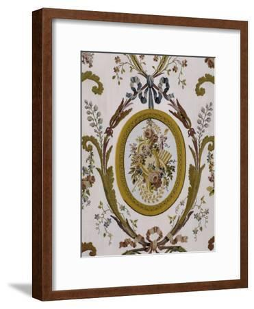 Vue intérieure : cabinets intérieurs de la Reine : cabinet du billard de Marie-Antoinette--Framed Giclee Print
