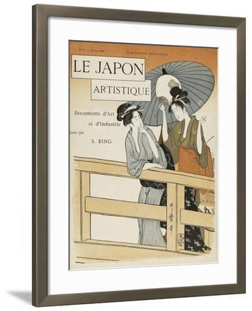 Le Japon artistique, n° 3--Framed Giclee Print