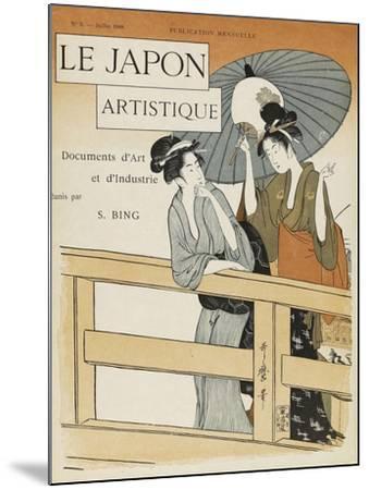 Le Japon artistique, n° 3--Mounted Giclee Print