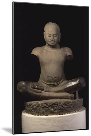 Jayavarman VII--Mounted Giclee Print
