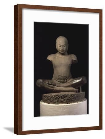 Jayavarman VII--Framed Giclee Print