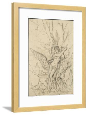 Léda-Gustave Moreau-Framed Giclee Print