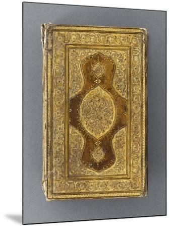 Manuscrit, reliure à décor de mandorle--Mounted Giclee Print