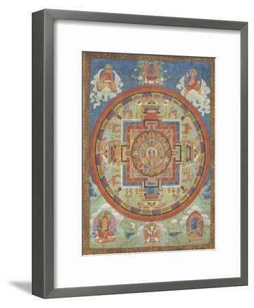 Mandala de Sitâtapatrâ--Framed Premium Giclee Print