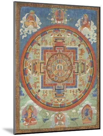 Mandala de Sitâtapatrâ--Mounted Giclee Print