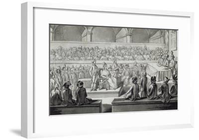 Marie-Antoinette devant le tribunal révolutionnaire, journées du 14,15,16 octobre 1793--Framed Giclee Print