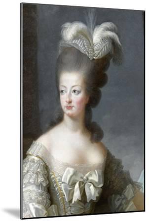 Marie-Antoinette de Lorraine-Habsbourg, archiduchesse d'Autriche, reine de France (1755-1795)-Brun Elisabeth Louise Vig?e-Le-Mounted Giclee Print